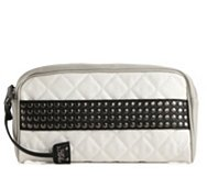 POVERTY FLATS by rian Studded Quilted Clutch