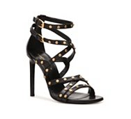 Saint Laurent Leather Studded Sandal