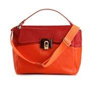 Lanvin Leather Color Block Satchel