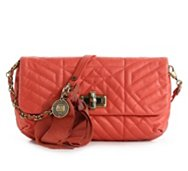 Lanvin Leather Quilted Cross Body Bag