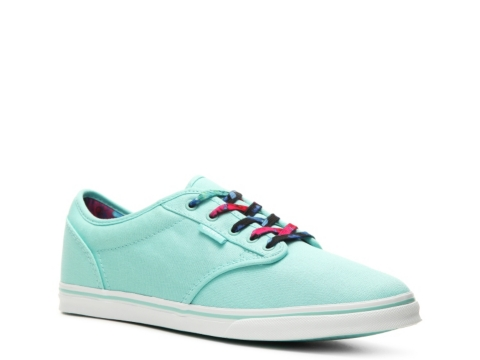vans atwood low sneaker mint green