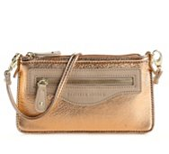Danielle Nicole Davina Metallic Crossbody Bag