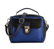 Melie Bianco Camera Color Block Mini Satchel
