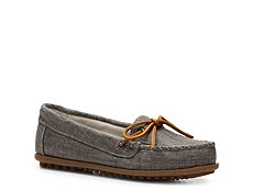 Minnetonka Canvas Moccasin