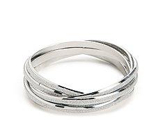 One Wink Diamond Dusted Bangle Bracelets