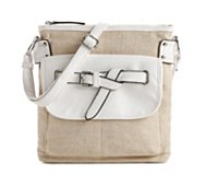Kelly & Katie Lawrence Linen Cross Body Bag