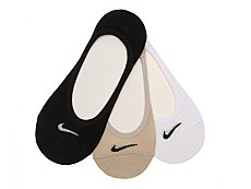 Nike Performance Cotton Women's No Show Liners - 3 Pack