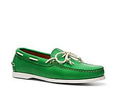 Final Sale - Ralph Lauren Collection Thad Leather Boat Shoe