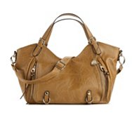 Big Buddha Roma Zipper Satchel