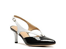 Final Sale - Rangoni by Amalfi Pattie Patent Leather Slingback Pump