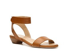 Rangoni by Amalfi Roxana Leather Ankle Cuff Sandal