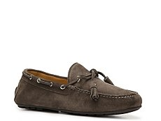 Final Sale - Ralph Lauren Collection Harold Suede Tassel Loafer