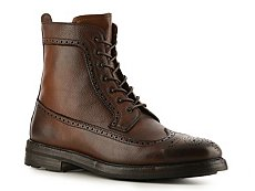 Ralph Lauren Collection Moatlands Leather Wingtip Boot