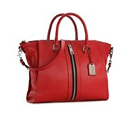 Levity Mackenzie Leather Satchel
