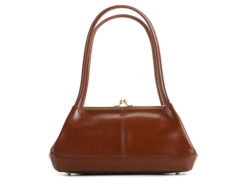 Hobo Gina Kiss Lock Leather Shoulder Bag 5