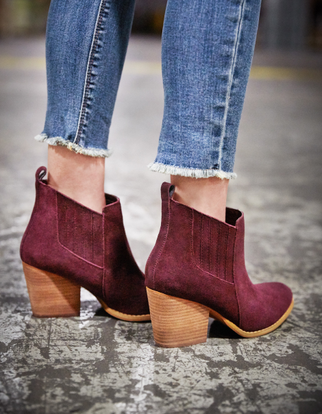 ANKLE BOOTS & BOOTIES