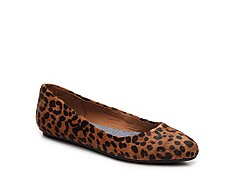 Dr. Scholls Really Leopard Flat