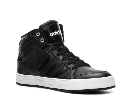 adidas Neo Raleigh High Top Sneaker Black/White/White