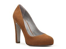 Final Sale - Sergio Rossi Nubuck Leather Pump