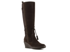 bare traps olley wedge boot dsw