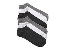 Mix No. 6 Basic Womens No Show Socks - 6 Pack