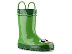 Western Chief Frog Boys Toddler & Youth Rain Boot