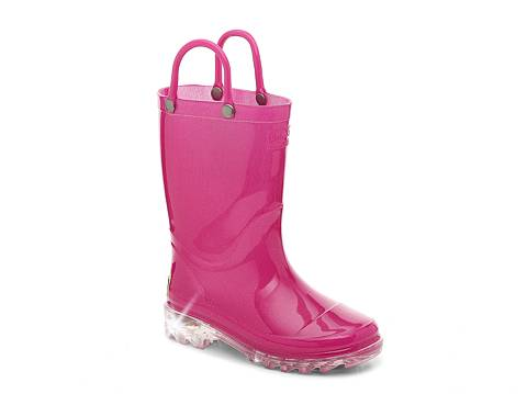 Western Chief Lighted Girls Toddler & Youth Light-Up Rain Boot | DSW