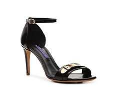 Final Sale - Ralph Lauren Collection Arora Leather Buckle Sandal