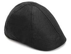 David & Young Solid Newsboy Cap