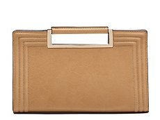 Melie Bianco Top Handle Clutch