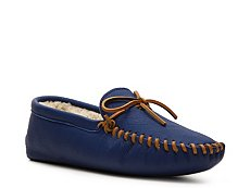 Final Sale - Ralph Lauren Collection Ian Leather Slipper