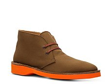 Final Sale - Ralph Lauren Collection Randon Canvas Chukka Boot