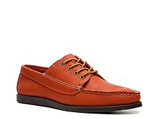 Final Sale - Ralph Lauren Collection Tahoma Reverse Leather Boat Shoe