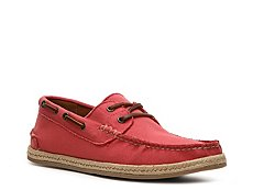 Final Sale - Ralph Lauren Collection Lamerwood II Twill Canvas Boat Shoe