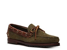 Final Sale - Ralph Lauren Collection Kyse Suede Boat Shoe