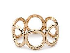 One Wink Open Circle Stretch Bracelet