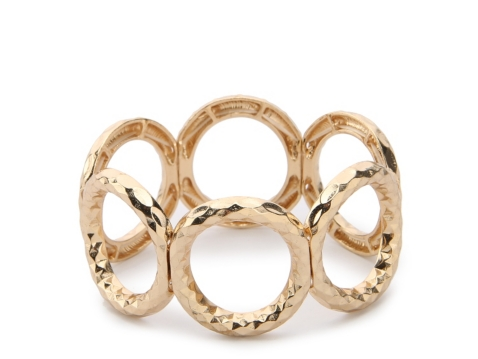 One Wink Open Circle Stretch Bracelet Dsw