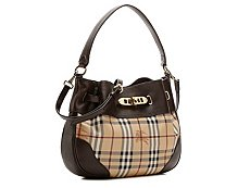 Burberry Newfield Signature Shoulder Bag