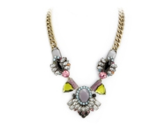 One Wink Jeweled Bib Necklace Dsw