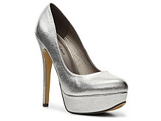 Michael Antonio Lily Metallic Platform Pump