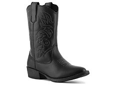 Deer Stags Ranch Boys Toddler & Youth Cowboy Boot