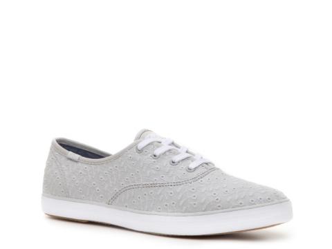 keds white eyelet sneakers