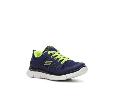 skechers flex advantage boys toddler youth running shoe