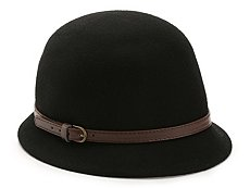 David & Young Classic Belt Cloche Hat