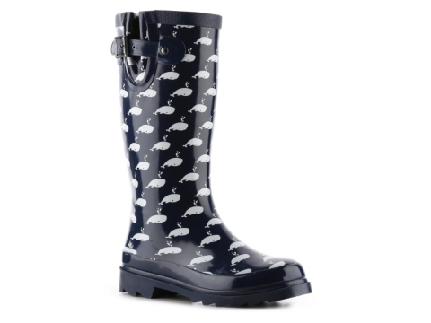 Chooka Happy Whales Rain Boot | DSW