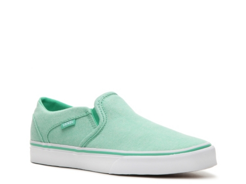 womens mint green vans