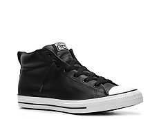 Converse Chuck Taylor All Star Street Leather Mid-Top Sneaker - Mens