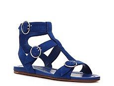 Prada Suede Gladiator Sandal