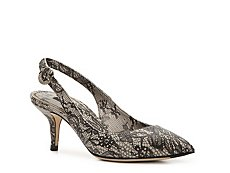Dolce & Gabbana Embossed Leather Floral Pump