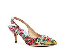 Dolce & Gabbana Floral Brocade Slingback Pump